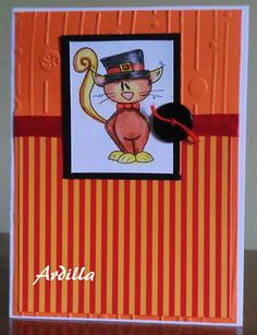 Ardilla's Papers: Cat with Hat