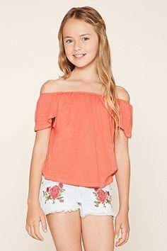Girls Tulip-Back Top (Kids)