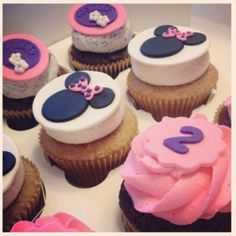 Minnie Mouse Cupcakes ~ Inspiration