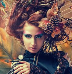 ow to Retouch a Portrait and Create a Fantasy Portrait Effect in Photoshop