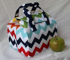 Looking for your next project? You're going to love Picnic Perfect Lunch Tote by designer Binskis Studio. - via @Craftsy
