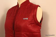 1980s Vintage by Den 5an windbreaker quilted Marty by KroweNYC, $42.00