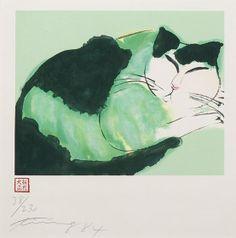 Walasse Ting, Cat
