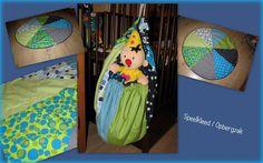 Speelkleed/Opbergzak gemaakt door Eefje bij het Naai Atelier Zus & Zus Venray