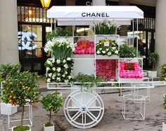 Big company - small cart! Even large fashion houses, such as Chanel, understands the importance of being mobile.