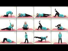 Tolle #Schwangerschaftsgymnastik - dein Sport in der Schwangerschaft - kostenlose Übungssammlung