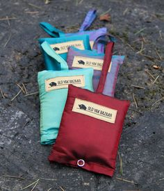 Super durable and compact shopping bags that are so convenient you can say goodbye to plastic bags. Each bag holds up to 40 lbs and can be folded down to a x pouch. Handmade by Tibetan refugees in India. Bag Making, Purses And Bags, Compact, Pouch, Plastic Bags, Shopping Bags, Karma, Wallets, How To Make