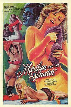 L'esthétique des affiches de porno des 60's et 70's | NOVAPLANET