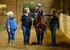 What i want to do for my volunteer work!!! therapeutic horseback riding for kids with disabilities !