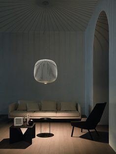 If you're looking for an industrial suspension lamp, Foscarini thinks at you with Spokes IThe Spokes 1 suspension lamp stands out for its elongated and dynamic shape. Find out more in Foscarini online store! Interior Lighting, Lighting Design, Lighting System, Lamp Design, Lighting Ideas, Design Design, Design Salon, Chandelier Pendant Lights, Pendant Lamp