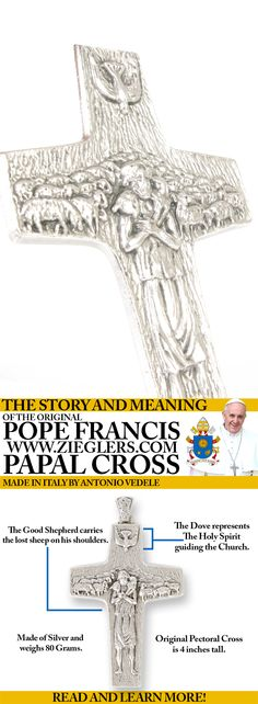 The story and meaning of Pope Francis Papal Cross! Read more! #PopeFrancis
