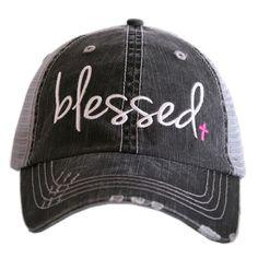 """HAT - BASEBALL TRUCKER HAT - """"BLESSED"""""""