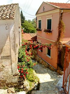 Kouramades, Corfu, Greece