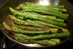 Quick, basic technique for stovetop asparagus