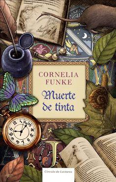 Muerte de Tinta (Inkdeath), written by Cornelia Funke - Book Cover Illustration - Fine tip and digital color - Círculo de Lectores 2008.