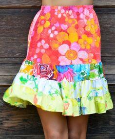 Hattie Skirt - Sundaisy Pink