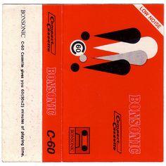 Vintage cassette insert