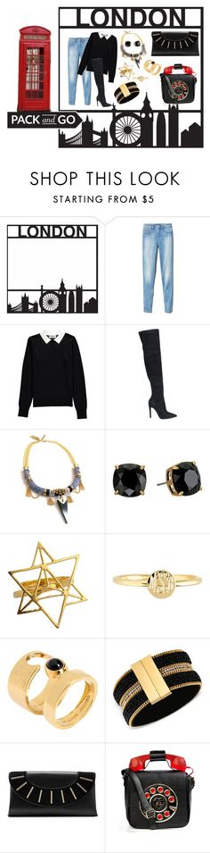 """""""Pack and Go London"""" by felipepanizzi on Polyvore featuring moda, Gap, Essentiel, Kendall + Kylie, Celine H2o, Tory Burch, Mark & Graham, Marc by Marc Jacobs, GUESS e Diane Von Furstenberg"""