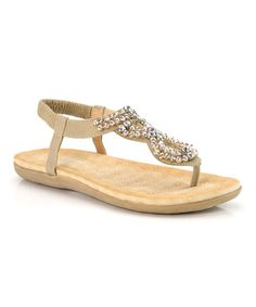 Another great find on #zulily! Khaki Twist Birken Sandal #zulilyfinds