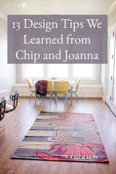 Easy home decor ideas. 13 design tips we've learned from Chip and Joanna Gaines from HGTV's Fixer Upper Decor, Home Diy, Decorating Tips, Cheap Home Decor, Inexpensive Home Decor, Easy Home Decor, Diy Home Decor, Interior Design, Home Decor