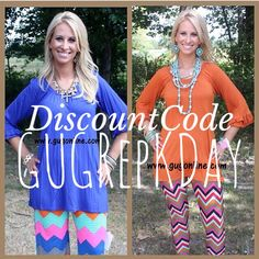 Southern style at Giddy Up Glamour! Home decor, fashion for all seasons, adorable options for your little girl! Get it all! Visit gugonline.com! Don't forget your DISCOUNT codeGUGRepKDay for 10% off EVERY purchase! #giddyupglamour #gugonline #southerngirl #hotsouthernmess #gypsy #armywife