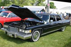 1976 Cadillac Fleetwood Brougham with Moonroof