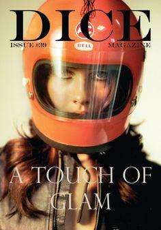 Dice Magazine print design graphic design magazine cover