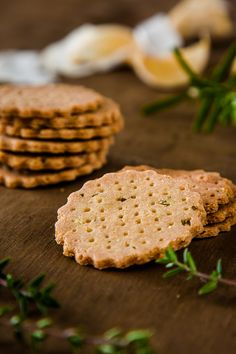 The crackers are really simple to throw together, and the resulting dough is beautiful soft and easy to handle