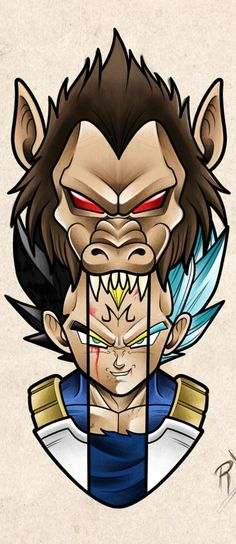 Daily dragon ball the many forms of Vegeta & Manga Dragon Ball Gt, Dragonball Anime, Super Vegeta, Z Tattoo, Anime Tattoos, Animes Wallpapers, Cover Design, Fan Art, Tattoo Sketches