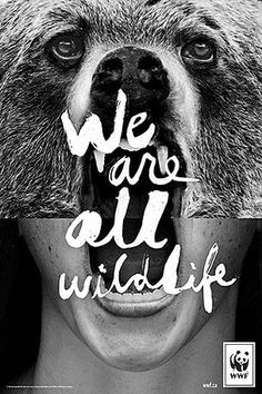 We are all Wildlife  © WWF-Canada