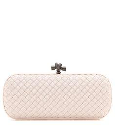 Knot pale pink box clutch Vintage Tea Dress 590fd6c24fa30