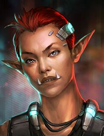 "tabletop-rpgs: ""Shadowrun: Hong Kong Female Ork Portraits "" Shadowrun Portrait Posts Character Portraits, Character Art, Character Reference, Character Concept, Female Orc, Female Faces, Shadowrun Game, Science Fiction, Troll"