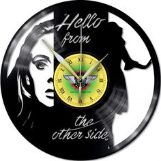 Vinyl Wall Clock ADELE 2