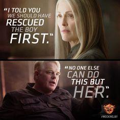 Katniss was their reason to hope. #Mockingjay