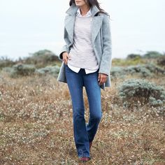 Fall calls for tone-on-tone layering, structured coats & the perfect pair of jeans.