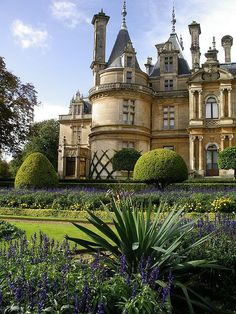 Waddesdon Manor, Buckinghamshire, England by PJR74