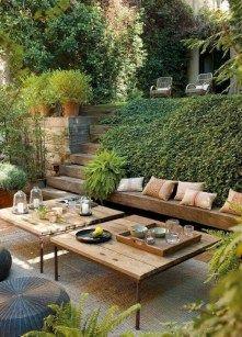 Fresh and beautiful backyard landscaping ideas 57