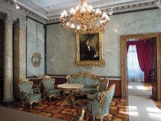Museo Revoltella, Trieste - Salotto verde di Palazzo Revoltella