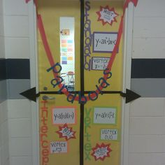 Awesome Math Door!