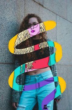 Photography Illustration, Photo Illustration, Digital Illustration, Illustrations, Fashion Illustration Collage, Simple Illustration, Fantasy Illustration, Photoshop Photography, Photography Photos