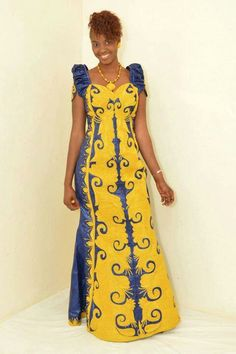 African style ~African Prints, African women dresses, African fashion styles, african clothing