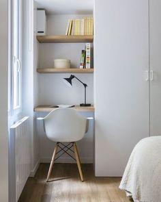 ไอเดียการแต่งห้องนอนเล็กๆ จาก IG : smallapartmentdecor