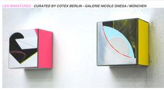 LES MINIATURES – Curated by Codex Berlin – Galerie Nicole Gnesa / München   EVENT   posted by Isabelle Borges
