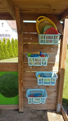 Kids Outdoor Play, Outdoor Play Areas, Kids Play Area, Backyard For Kids, Natural Playground, Backyard Playground, Outdoor Toy Storage, Kids Yard, Backyard Paradise