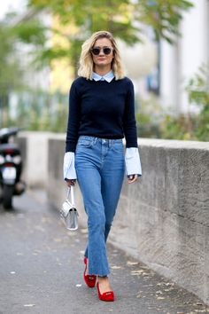 Pin for Later: The Best Street Style From All of Paris Fashion Week Paris Fashion Week, Day 7