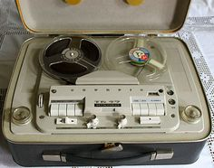 Great tube tape recorder by Grundig.