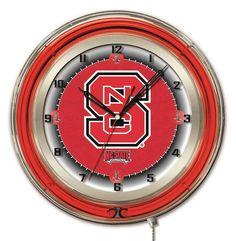 One Size Memory Company NCAA North Carolina State University Neon Lamp Multicolor