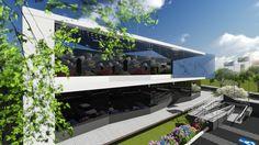 Procon – Uberlândia.  (Projeto arquitetônico de direito autoral do escritório Luiz Márcio Arquitetos.)