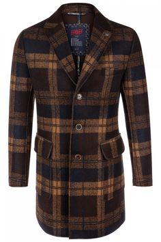 BOB Herren Mantel Henry Braun | SAILERstyle Tweed, Elegant, Bob, Shirts, Blazer, Fashion, Men Coat, Hand Crafts, Jackets