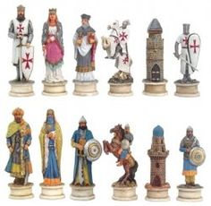 Chess Sets.  Beautiful!
